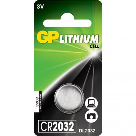 Batteria litio CR2032 - 1P
