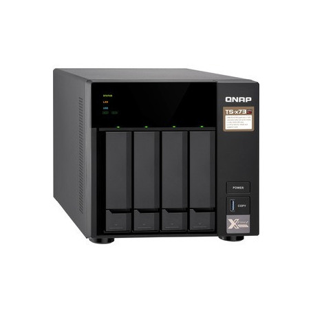 Sistema di memorizzazione SAN/NAS QNAP TS-473
