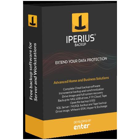 Iperius Backup Desktop 1 licenza valida per  tre postazioni