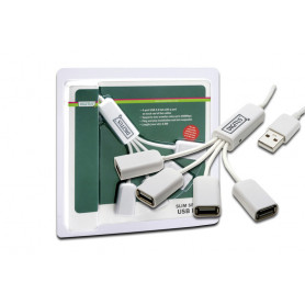 HUB USB 2.0 4P. a coda con cavetti DA70216